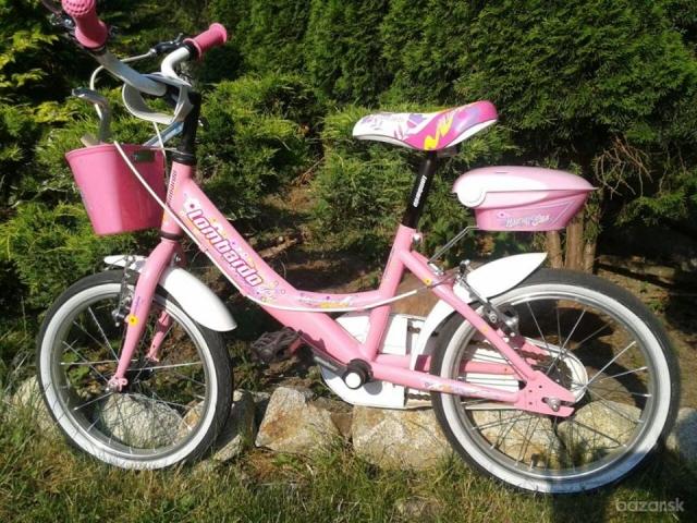 95fab4f177d40 Predám detský bicykel LOMBARDO