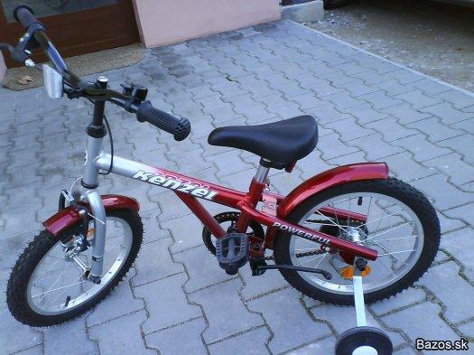 """78b01fa79 Kúpim detský bicykel na 4-6 rokov veľkosť 16"""" do 1200 Sk aj s  dobierkou."""