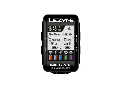 Cyklocomputer LEZYNE MEGA Color GPS