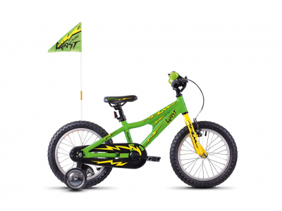 GHOST Powerkid 16 riot green cane yellow night black 2021