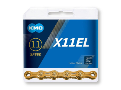 Reťaz KMC X11EL Ti-N Gold, 11 Speed