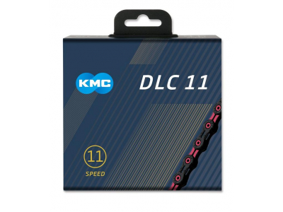 Reťaz KMC DLC 11 Black/Pink, 11 Speed