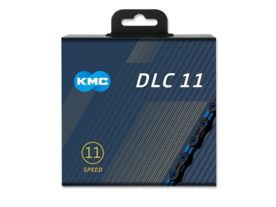 Reťaz KMC DLC 11 Black/Blue, 11 Speed