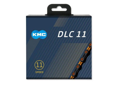 Reťaz KMC DLC 11 Black/Orange, 11 Speed