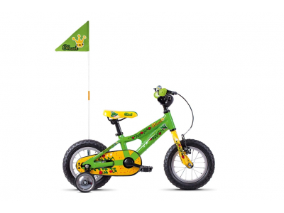 GHOST Powerkid 12 riot green cane yellow riot red 2021
