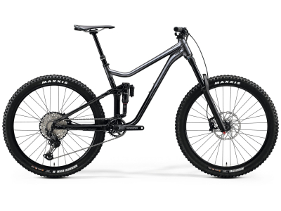 Merida ONE-SIXTY 700 GLOSSY ANTHRACITE/BLACK 2020