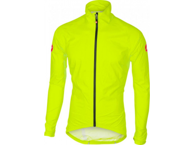 Bunda do dažďa CASTELLI 17500 EMERGENCY RAIN žltá fluo