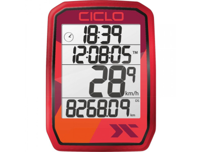 CICLOSPORT PROTOS 105 red