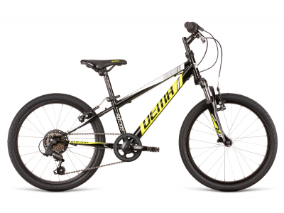 Bicykel DEMA ROCKIE 20 SF black-neon yellow