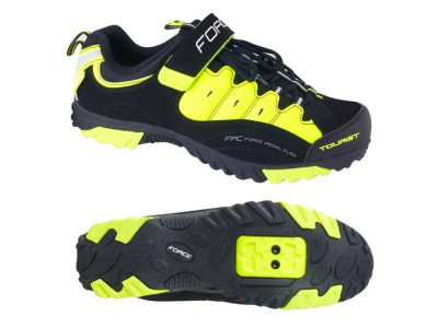 Tretry FORCE MTB TOURIST FLUO